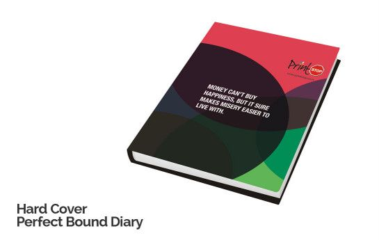 Hardcover Perfect Bound Diary